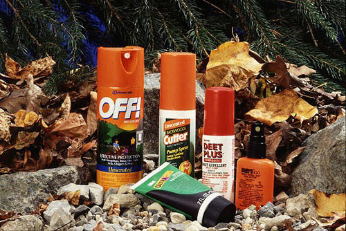 DEET_products (source USDA photo by Scott Bauer via wikimedia commons)