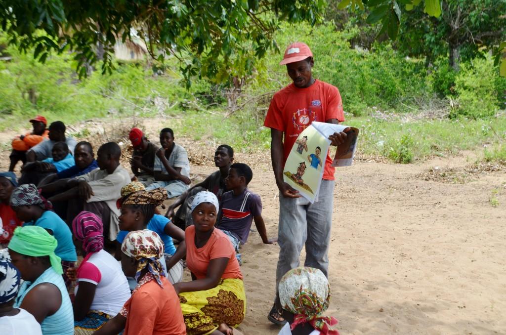 Community dialogue discussing malaria (54)