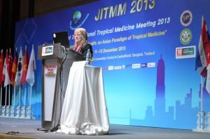 Dr Sylvia Meek presenting at JITMM in Bangkok 2013