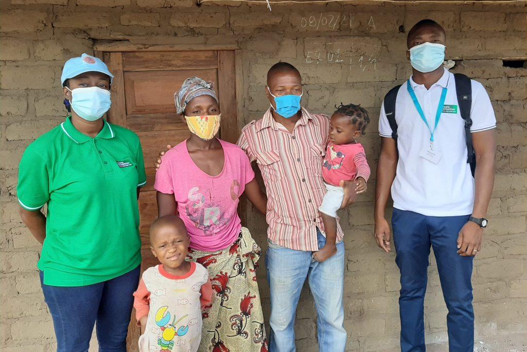 Crimildo and his family