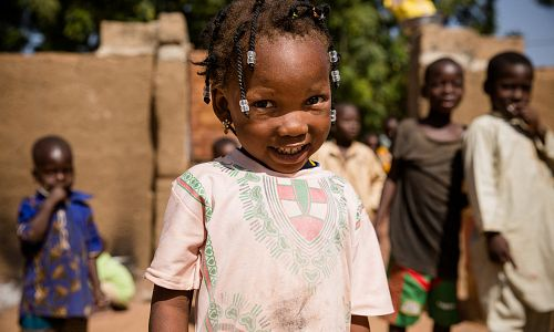 £100 could protect 25 children from malaria through seasonal malaria chemoprevention