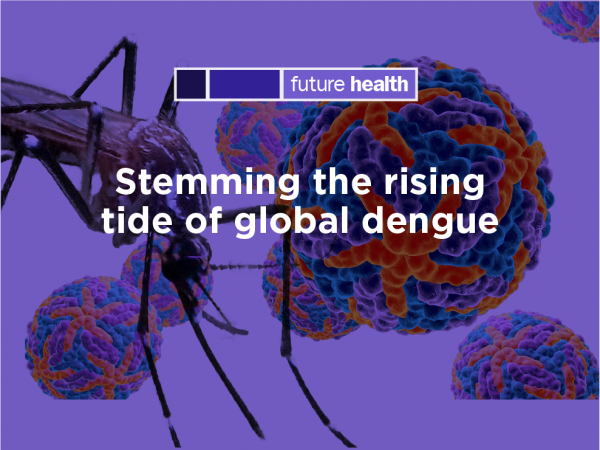 Photo for: Stemming the rising tide of global dengue