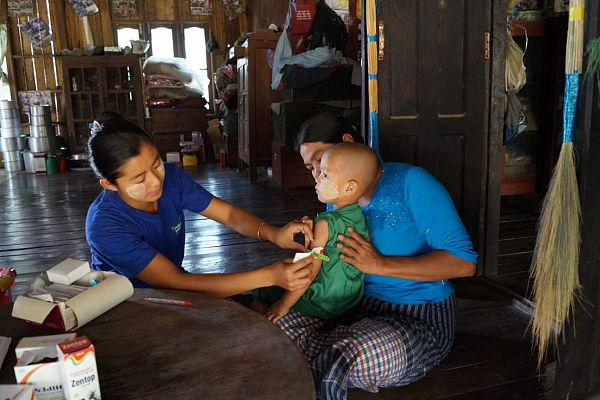 Photo for: Expanding rural communities' access to health services in Myanmar