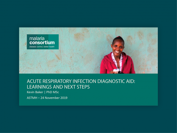 Photo for: Acute respiratory infection diagnostic aid: Learnings and next steps