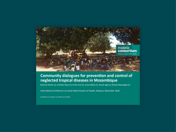 Photo for: Community dialogues for the prevention and control of neglected tropical diseases in Mozambique