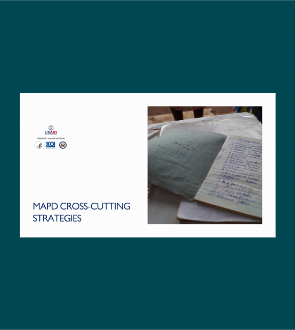 Photo for: MAPD cross-cutting strategies