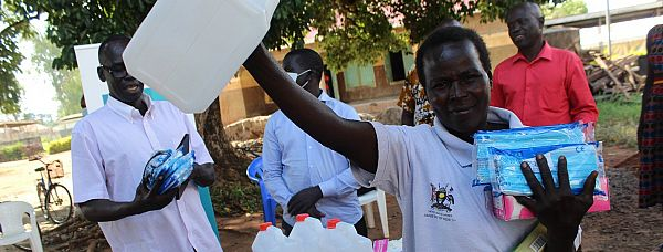 Photo for: Supporting frontline health workers in Uganda: Strengthening capacity during COVID-19 and beyond
