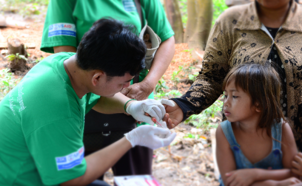 Photo for: Building capacity for malaria elimination in southern Cambodia