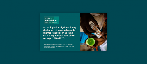 Photo for: An ecological analysis exploring the impact of seasonal malaria chemoprevention in Burkina Faso using national household surveys (2010–2017)​