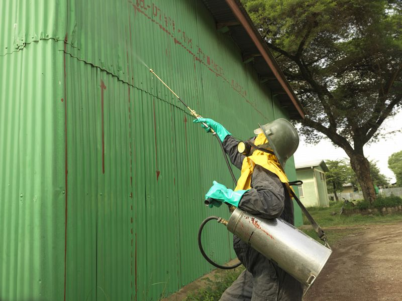 Implementing a community-based approach to indoor residual spraying in Ethiopia