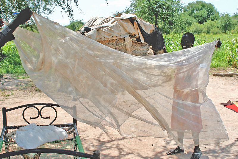 Mass distribution of long lasting insecticidal nets during COVID-19