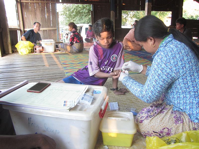 Countering the spread of drug-resistant malaria in northern Cambodia