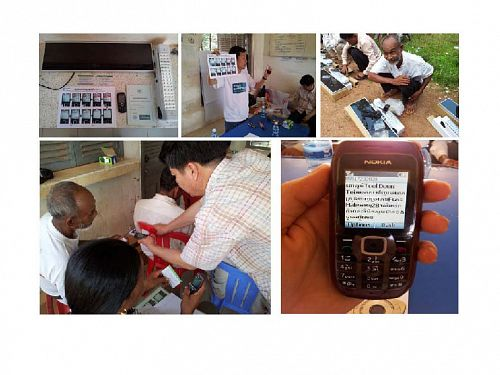 Photo for: Moving towards malaria elimination: tools for strengthening malaria surveillance in Cambodia