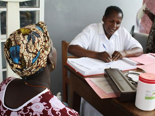 Photo for: Antenatal care and the prevention of malaria related deaths in mothers and their unborn children