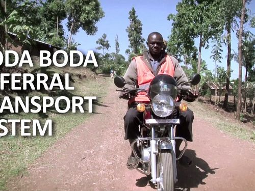 Photo for: Boda boda referral transport system