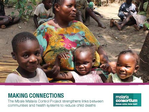 Photo for: Making Connections: The Mbale malaria control project strengthens links between communities and health systems to reduce child deaths