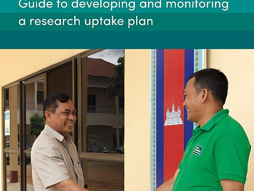 Photo for: Guide to developing and monitoring a research uptake plan