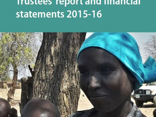 Photo for: Highlights from the Trustees' report and financial statements 2015-16