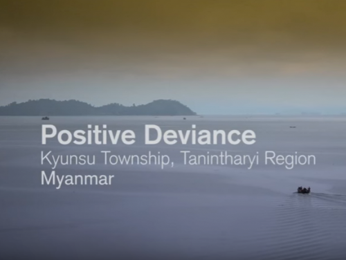 Photo for: Positive Deviance - an innovative approach to improve malaria outcomes in Myanmar