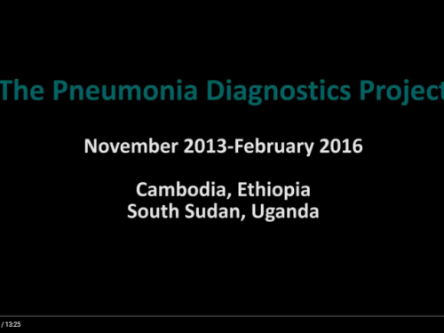 Photo for: Protocol film: Implementing a trial to evaluate pneumonia diagnostic devices