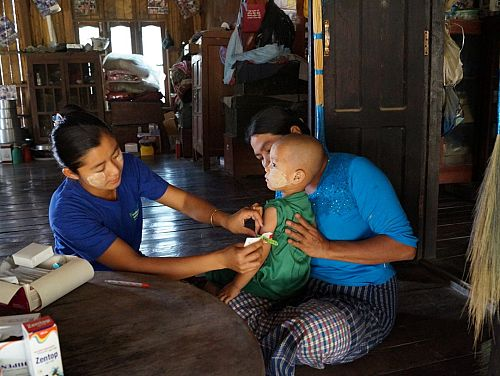 Photo for: Expanding the role of Malaria Volunteers to tackle childhood illnesses in rural Myanmar: Short version