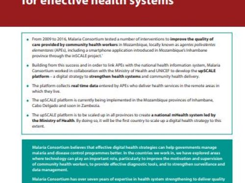Photo for: upSCALE: A digital health platform for effective health systems