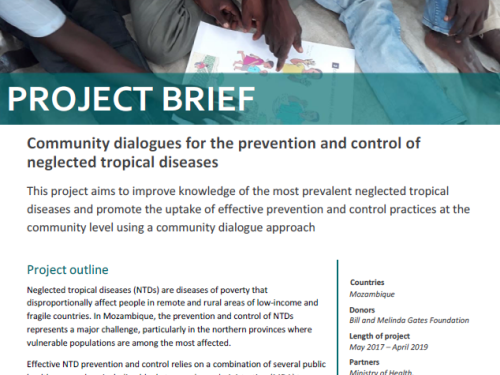 Photo for: Community dialogues for the prevention and control of neglected tropical diseases