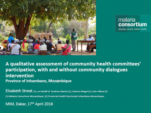 Photo for: A qualitative assessment of community health committees' participation, with and without community dialogues