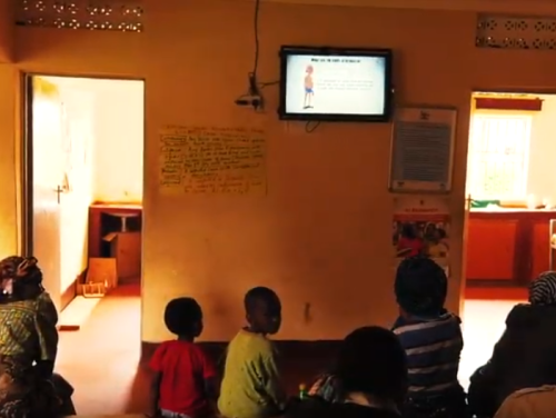 Photo for: MAPD Uganda - Waiting Room Malaria Messages