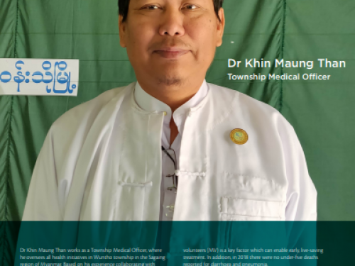 Photo for: Dr Khin Maung Than's story