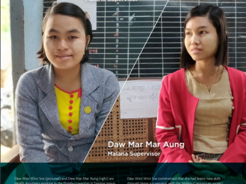 Photo for: Daw Wint Wint Soe and Daw Mar Mar Aung's story