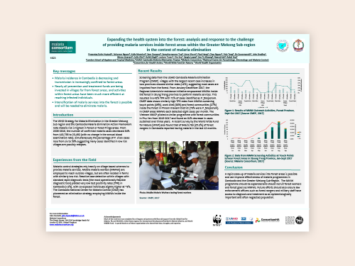Photo for: Expanding the health system into the forest: Analysis of and response to the challenge of providing malaria services inside forest areas within the Greater Mekong Subregion in the context of malaria elimination