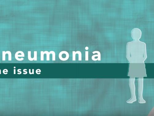 Photo for: Pneumonia: the issue