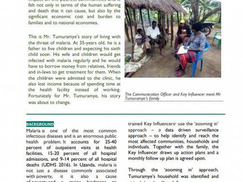 Photo for: Tumuramye's story on the fight against malaria
