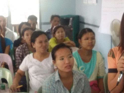 Photo for: Myanmar community members spearhead novel approach to eliminate dengue