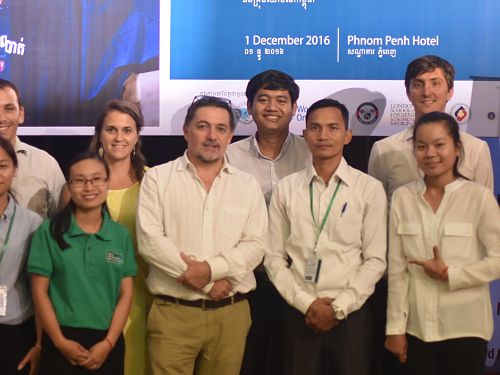 Photo for: Malaria Consortium receives prize for grassroots solution against dengue in Cambodia