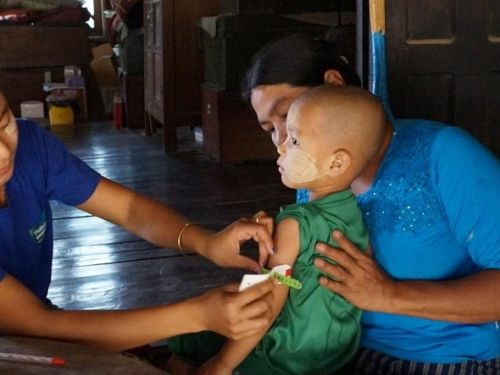 Photo for: Remote, rural populations in Myanmar receive improved healthcare