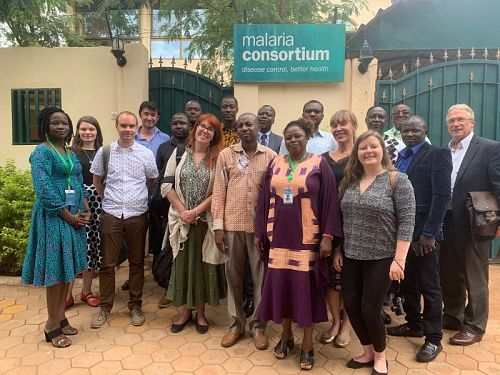 Photo for: GiveWell delegation visits our seasonal malaria chemoprevention programme in Burkina Faso