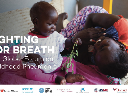 Photo for: Malaria Consortium to present at inaugural Global Forum on Childhood Pneumonia