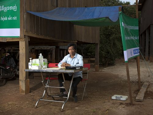Photo for: Community health workers are key to successful malaria elimination projects in Cambodia during COVID-19