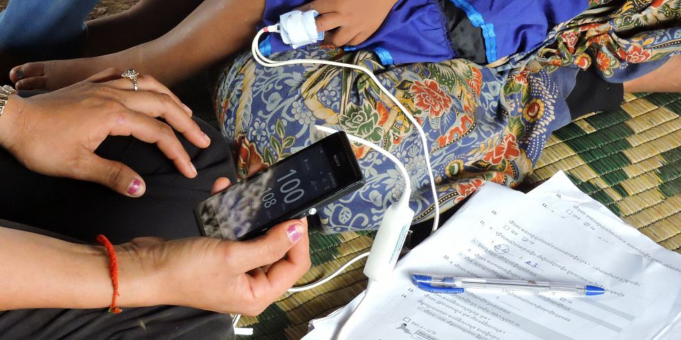 New research shows handheld pulse oximeters are suitable tools for frontline health workers in detecting severe illness in children under five in resource-poor countries