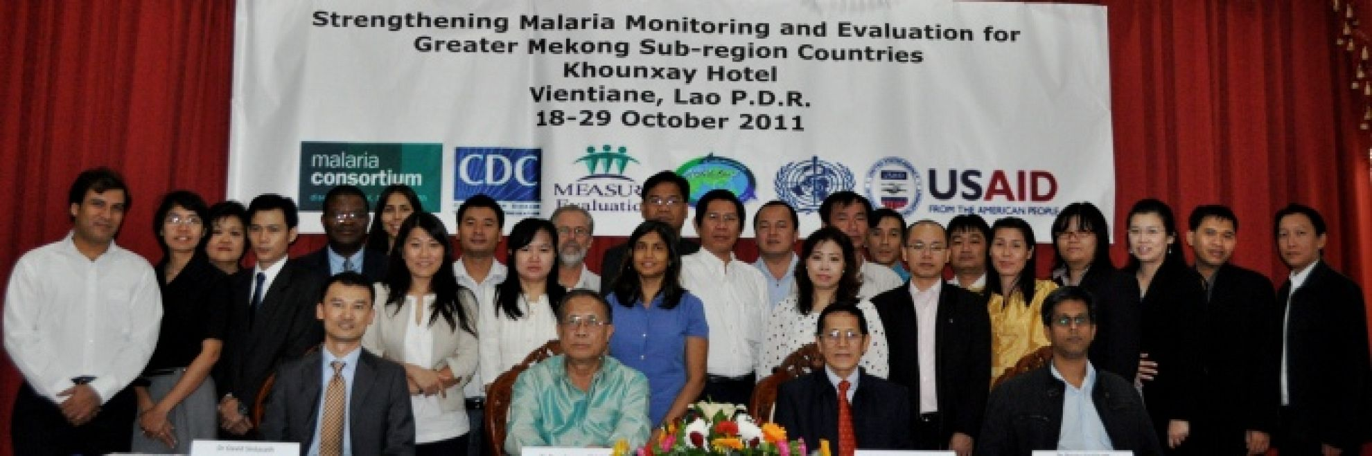 Latest News Strengthening malaria monitoring and evaluation for the greater mekong sub region countries