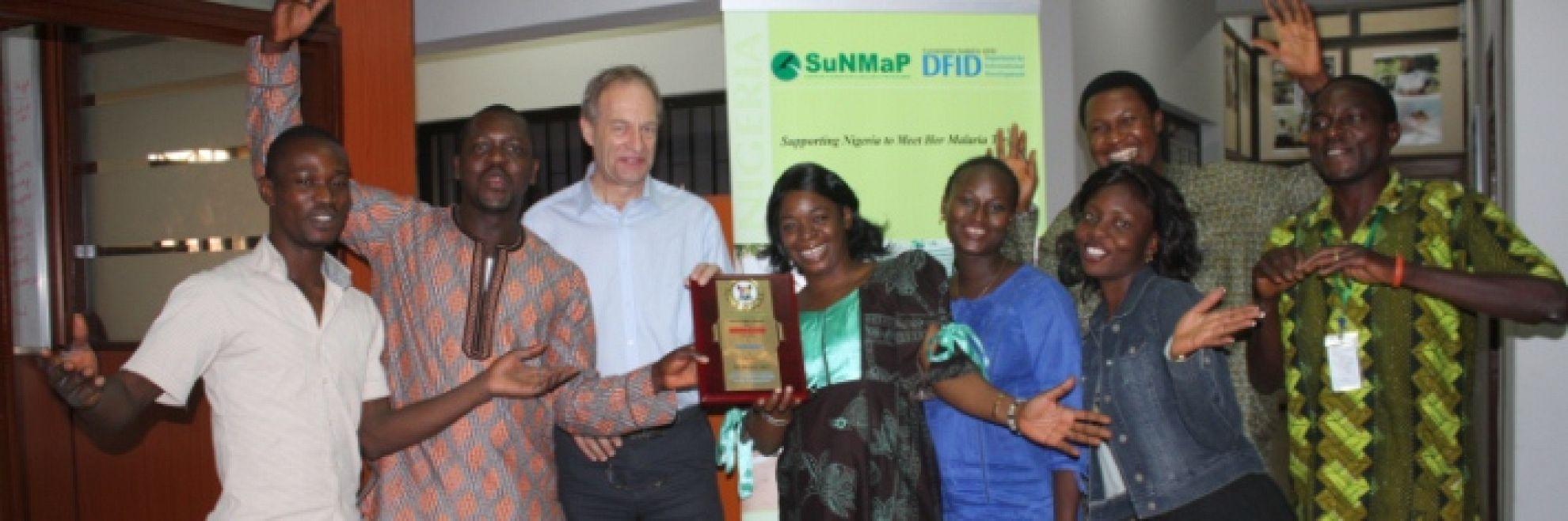 Latest News Sunmap wins lagos state merit award 2011