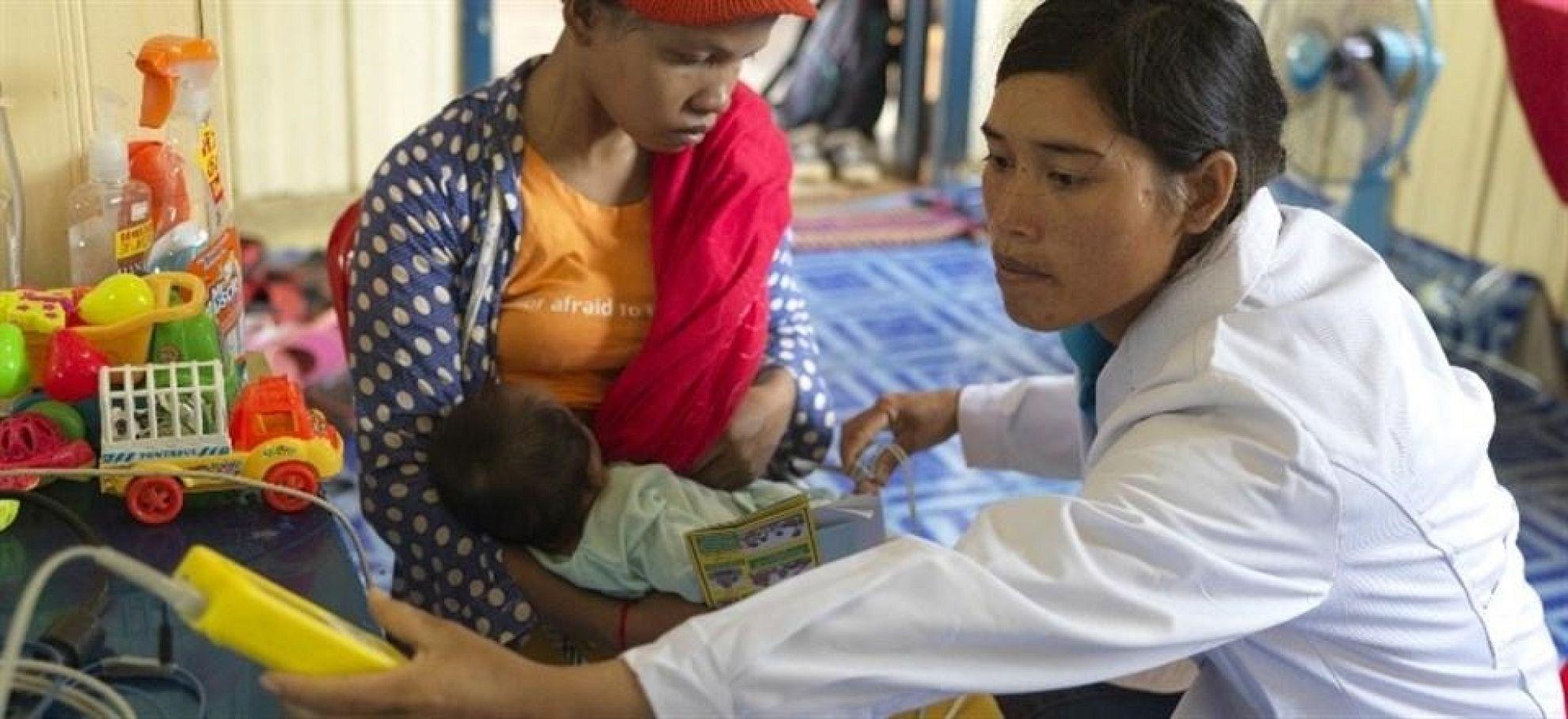 Latest News Helping reduce child pneumonia deaths in cambodian rural communities