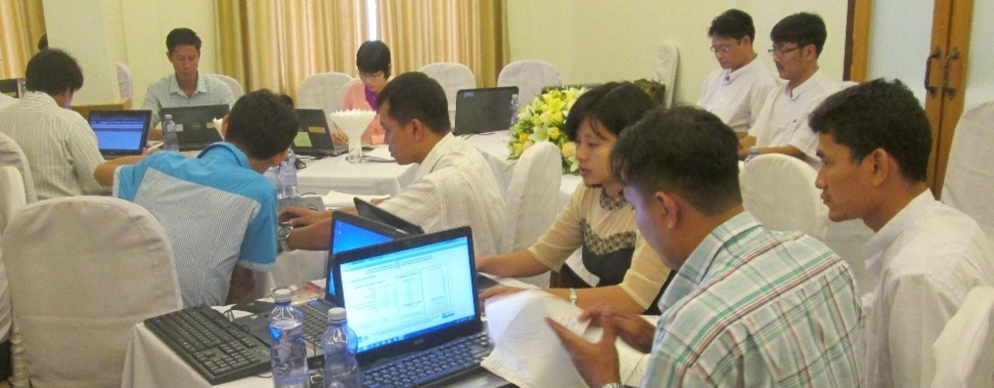 Latest News Training for improved surveillance and data management in myanmar