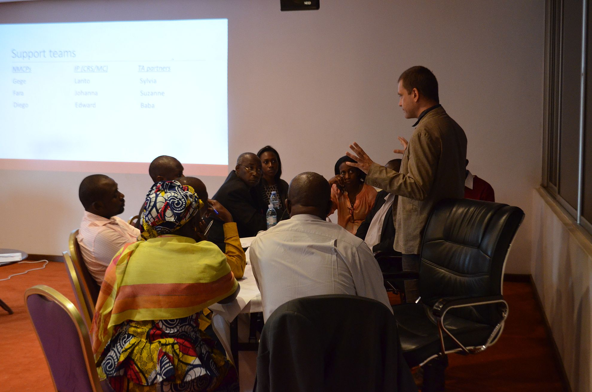 Latest News Country teams meet to share 2015 best practices and lessons learned