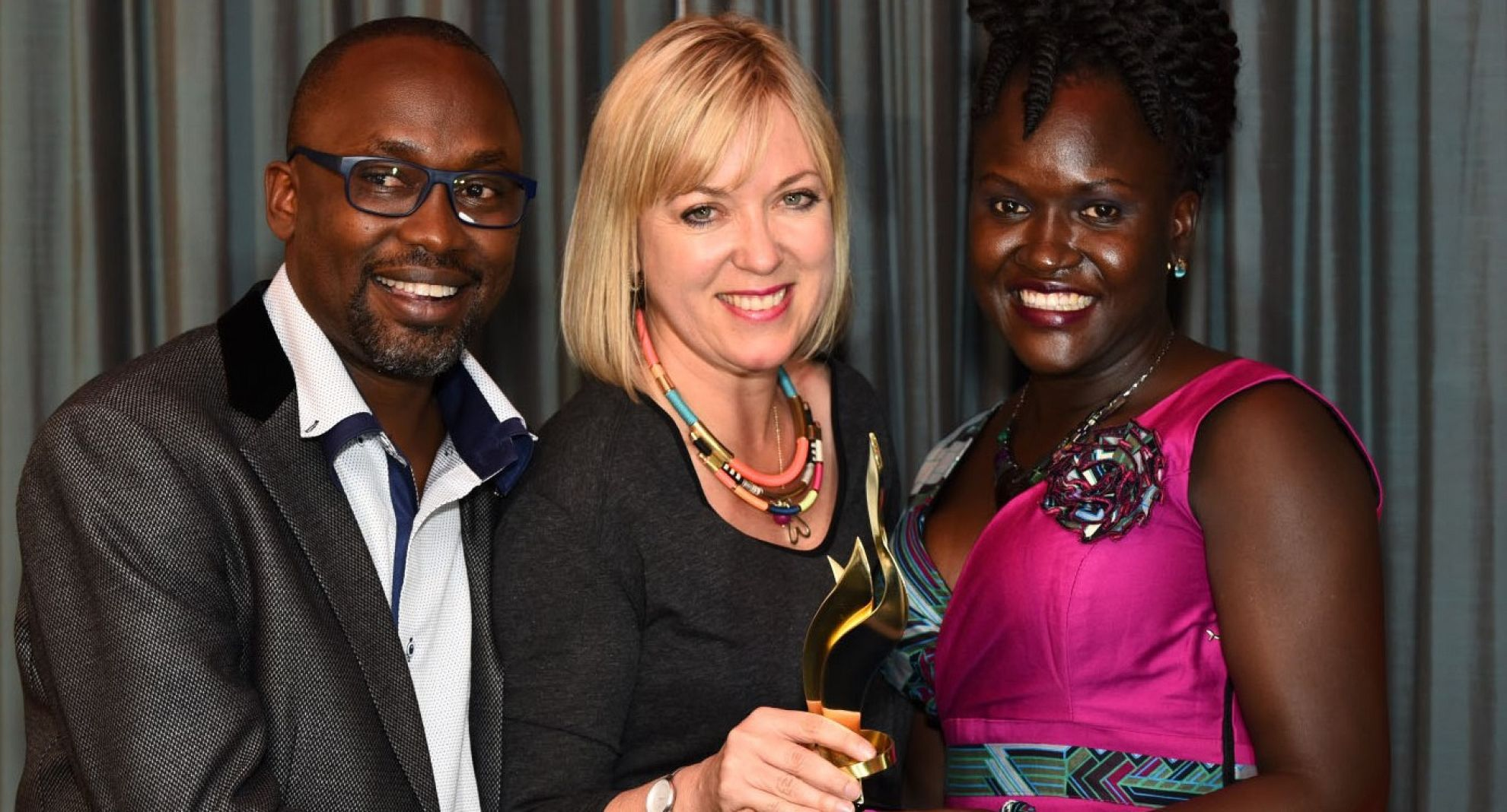 Latest News Malaria consortium uganda project wins communications award at african excellence awards