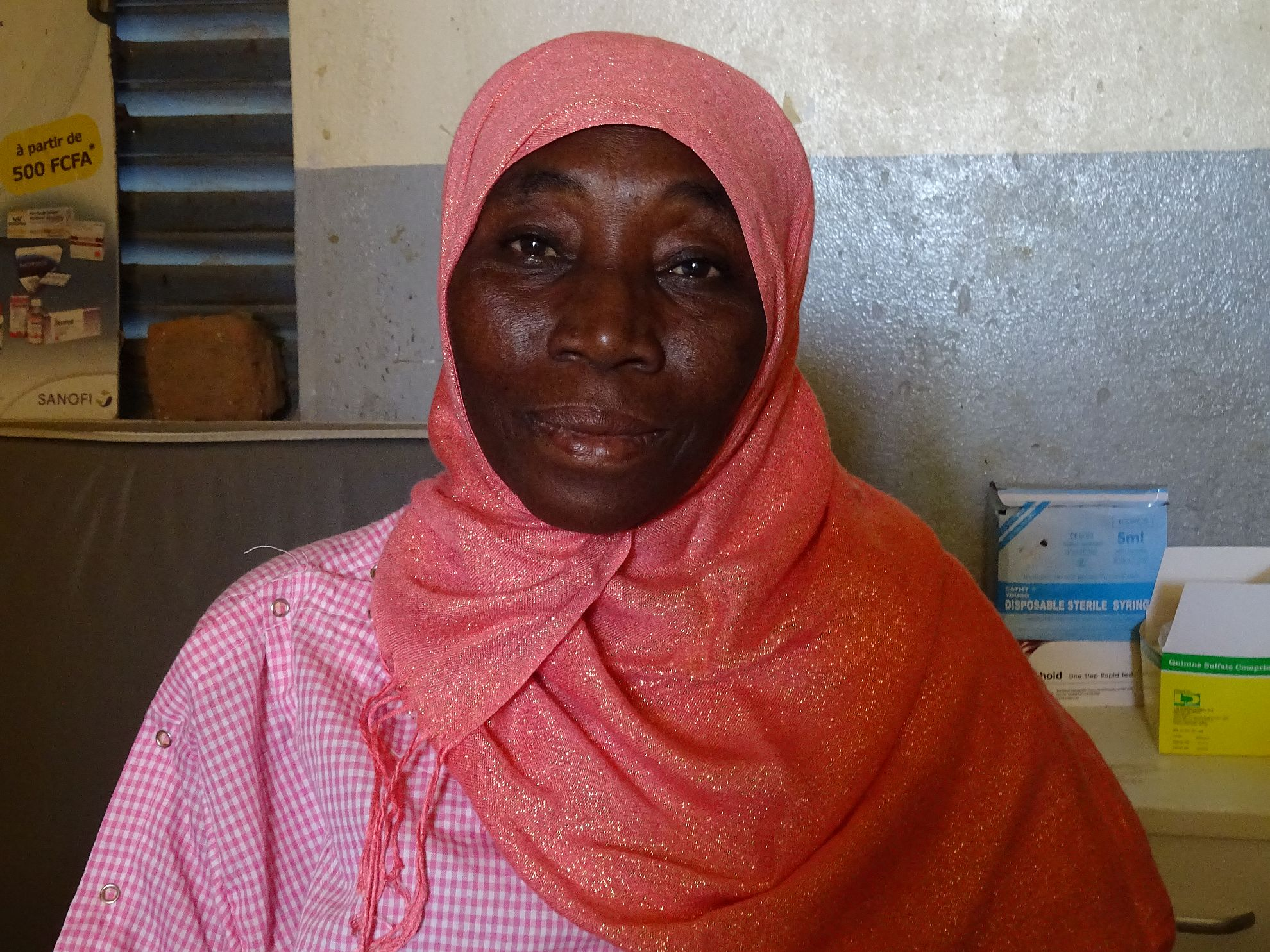 Latest News Interview with mme zara al fadil head of health facility mailao chad