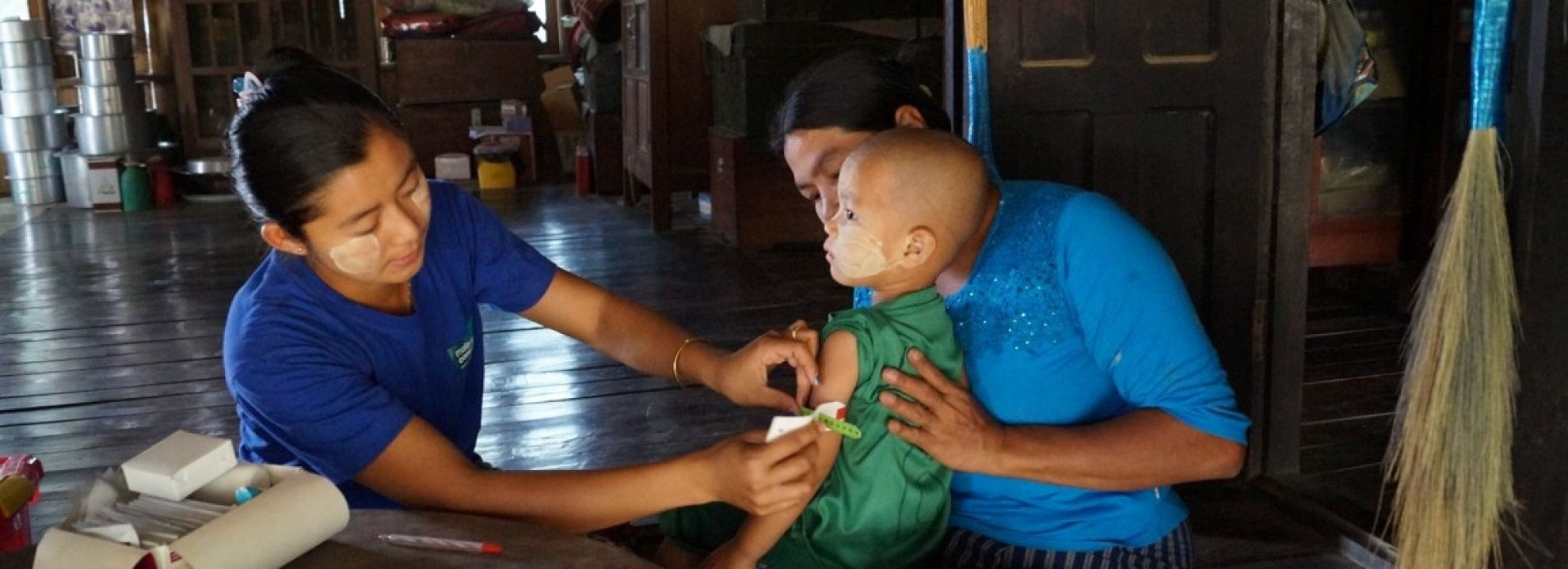 Latest News Remote rural populations in myanmar receive improved healthcare