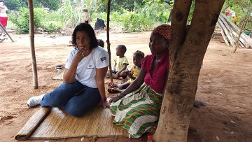 Latest News Photo story bringing healthcare to under fives in rural mozambique